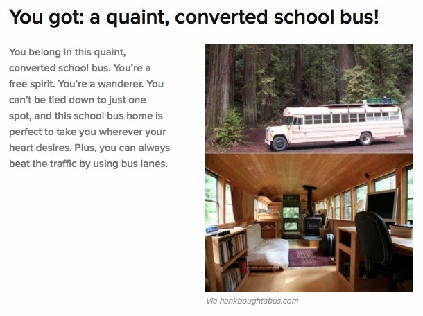 Quaint School Bus
